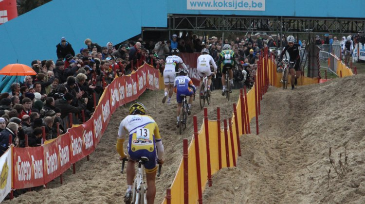 2009 Koksijde Elite Men World Cup 11/28/2009 ©Bart Hazen