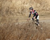Zach McDonald rides away from the field to take his first U23 title. ©Cyclocross Magazine