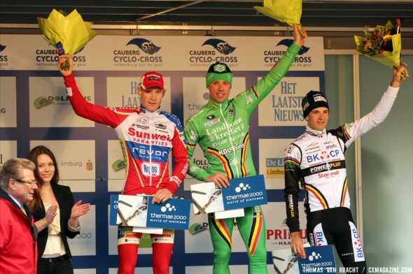 Nys topped the podium at Cauberg Cyclocross. Thomas Van Bracht
