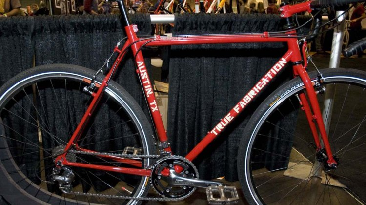 True Fabrication of Austin, Texas brought out this custom cyclocross bike to the 2012 NAHBS.© Kevin White