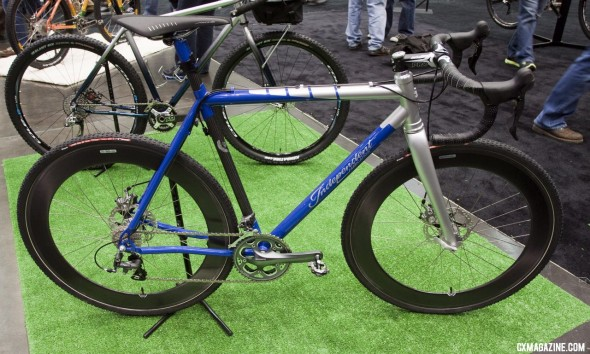 Independent Fabrication's Titanium Factory Lightweight Cyclocross Bike ©Cyclocross Magazine