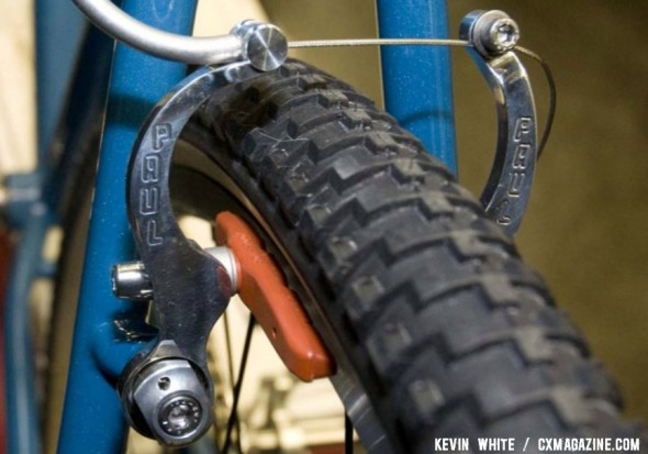 Paul's new MiniMoto mini V-brake adds to Paul's cyclocross brake options. © Kevin White