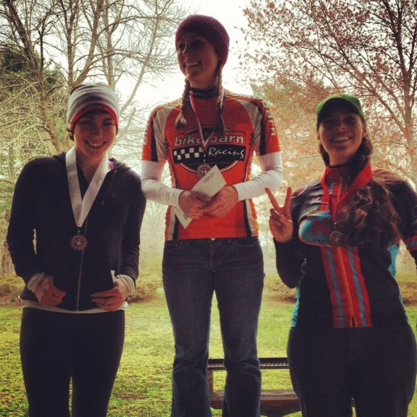 My first mountain bike race and podium.
