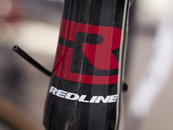 2013 Redline Conquest Team carbon cyclocross frameset. Sea Otter 2012. ©Cyclocross Magazine