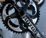 "WickWerks chainrings that utilize ""Bridge"" technology versus the tradiditional ramp and pin design has added a 46-38 130 BCD cyclocross specific set to its lineup of mountain, road and cyclocross offerings. © Kevin White"