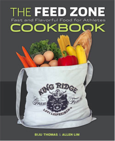The Feed Zone Cookbook, by Allen Lim and Biju Thomas