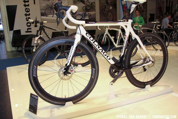 Disc brakes will be standard on many of Colnago's new bikes for 2013, including this Ultegra Di2-equipped Prestige. ©Thomas van Bracht