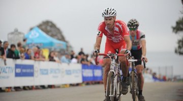 At the 2011 Gran Prix Gloucester, Christian Heule Caught Jeremy Powers Out on the Final Climb