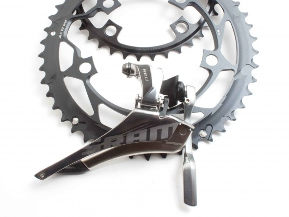 The 2012 SRAM front derailleur.