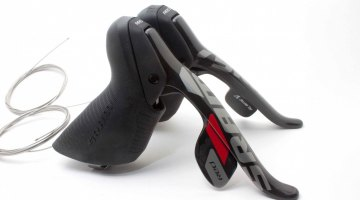 The 2012 SRAM Red Levers.