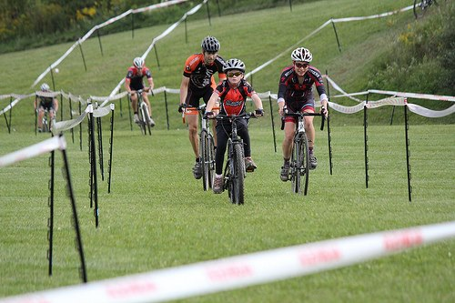 The team race had all ages and genders on course together, having fun and racing hard. WAS Labs Cycling