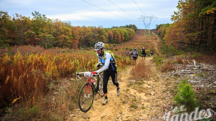 Despite threats of rain, the skies remained clear for racers at Iron Cross last weekend.