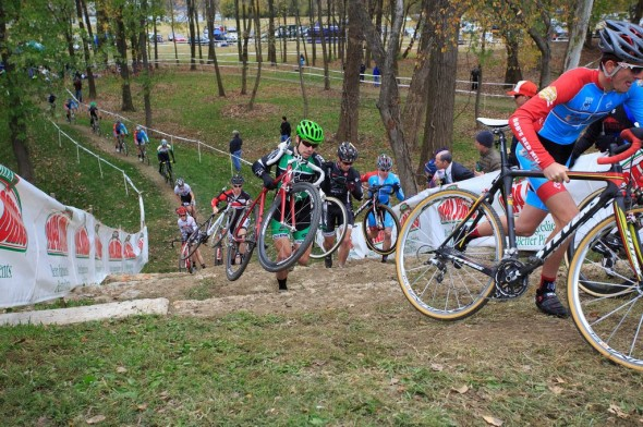 OVCX #5 Storm Eva Bandman Halloween CX Men's Elite on Stone Run-up aka Stonehenge by Kent Baumgardt