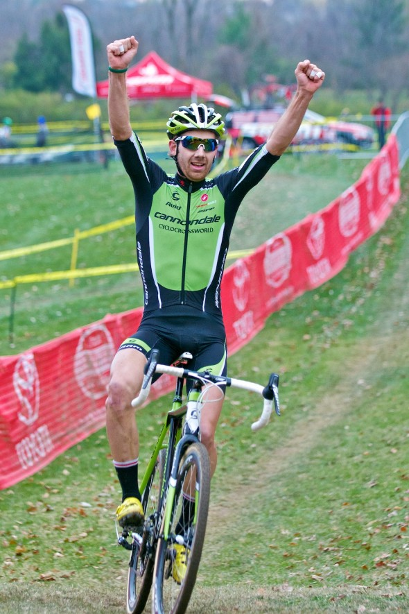 Cincy 3 CX Festival Driscoll Scores A C1 Win in Cincinnati © Jeffrey B Jakucyk