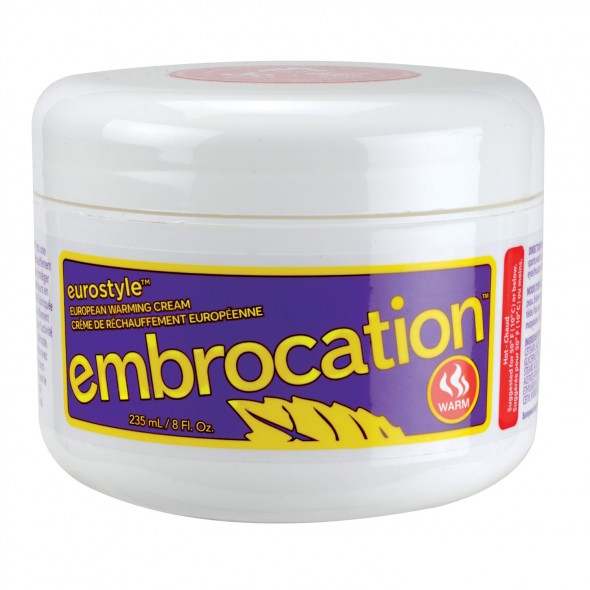 Paceline embrocation comes in a hefty 8oz. tub.