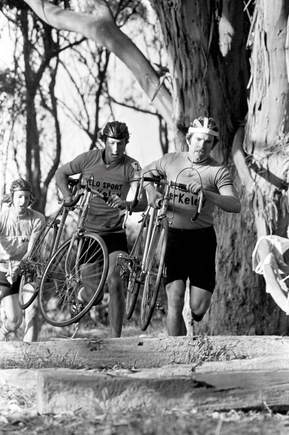 early american and european cyclocross courses were more rugged and improvised. (Ray Stafford)
