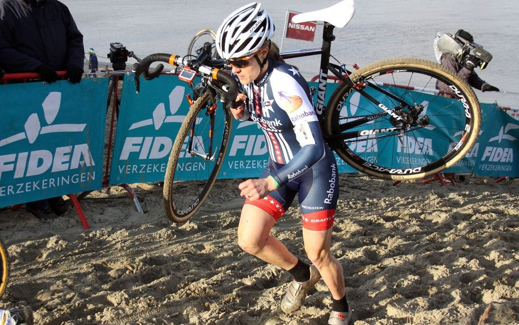 Katie Compton took wins both days at Scheldecross and Vlaamse Druivenveldrit last year © Bart Hazen