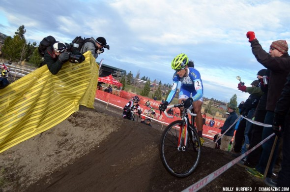 Nash led from early on and took her second win of the weekend. © Cyclocross Magazine