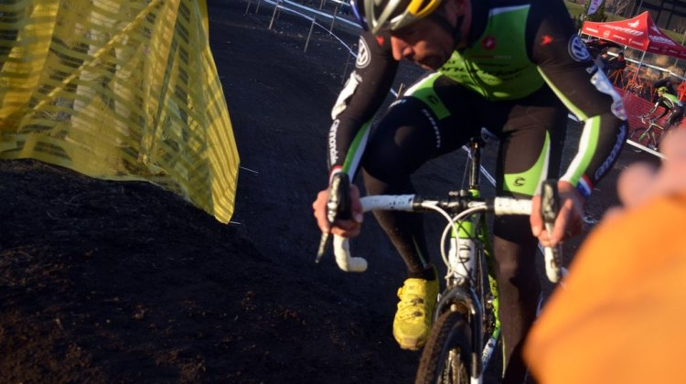 Tim Johnson had the ride of the season at USGP Deschutes Brewery Day 2. © Cyclocross Magazine