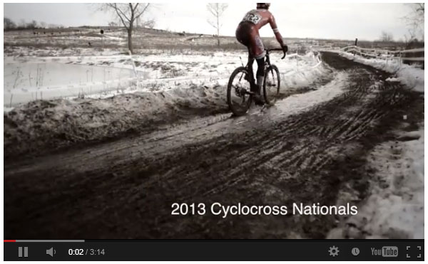 Nice short little video from Focal Flame Photography from the 2013 Cyclocross National Championships' racing on Saturday.
