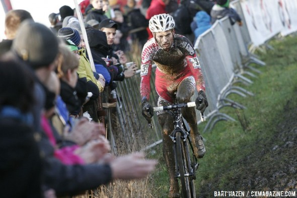 Kevin Pauwels on the way to the win © Bart Hazen