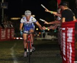 Christian Helmig grabs the money at CrossVegas 2012. ©Thomas van Bracht / Cyclocross Magazine