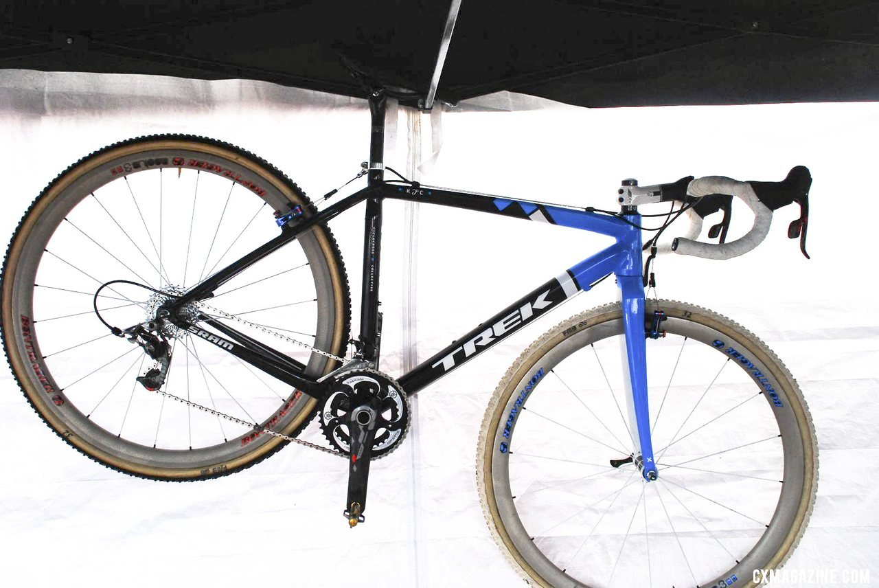 Katie Compton's 2013 Verona Nationals alloy Trek prototype. © Cyclocross Magazine