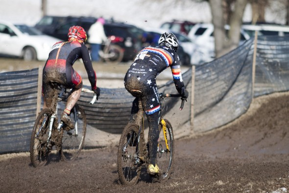 Webber and Prieto looked to make it a two-man race early on © Cyclocross Magazine