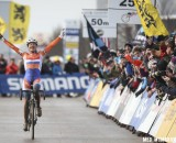 Marianne Vos won her sixth Cyclocross World Championship in Louisville, KY. © Meg McMahon