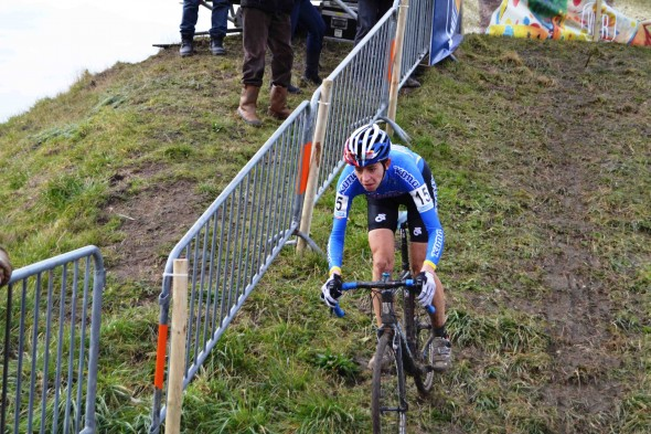 Wyman at Superprestige Middelkerke on her way to second place. © Paul Burgoine
