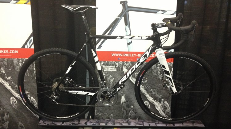 First glance at the Ridley X-Night, new for 2014. © Dana Carson