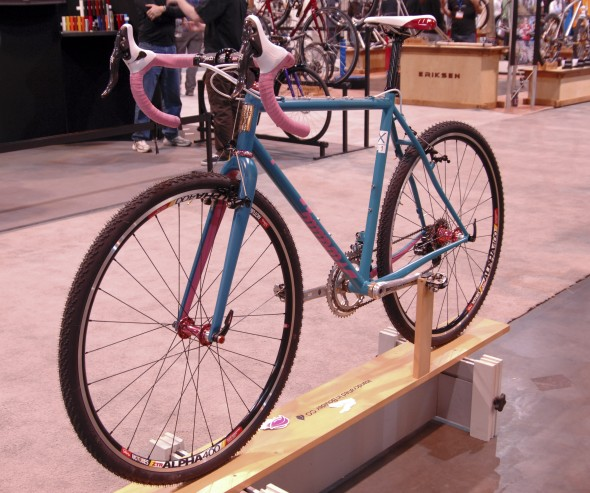 Small Batch's latest cyclocross rig. NAHBS 2013 © Lance Barry