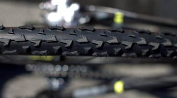 Vittoria's new 33mm Cross XL clincher tire, available in clincher, tubeless and tubular form. © Cyclocross Magazine