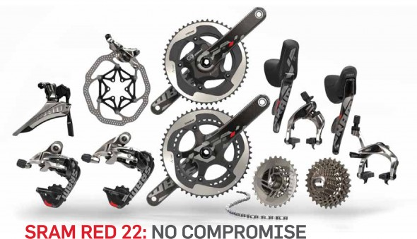 SRAM Red for 2013, featuring the worst-kept secret of 2013, the 11-speed cassette.