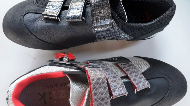 A look at the newest MTB shoes from Fizik: the M1 and M5. © Cyclocross Magazine