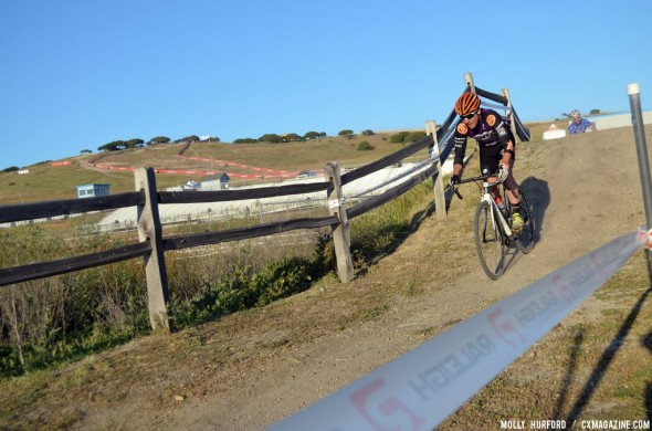 Paxson looked comfortable, but a flat took him out of fifth place contention. © Cyclocross Magazine