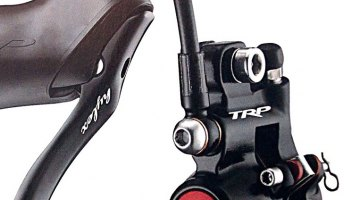 Singlespeed or Barcon loyalists have a hydraulic disc brake option with the TRP Hylex. © Cyclocross Magazine