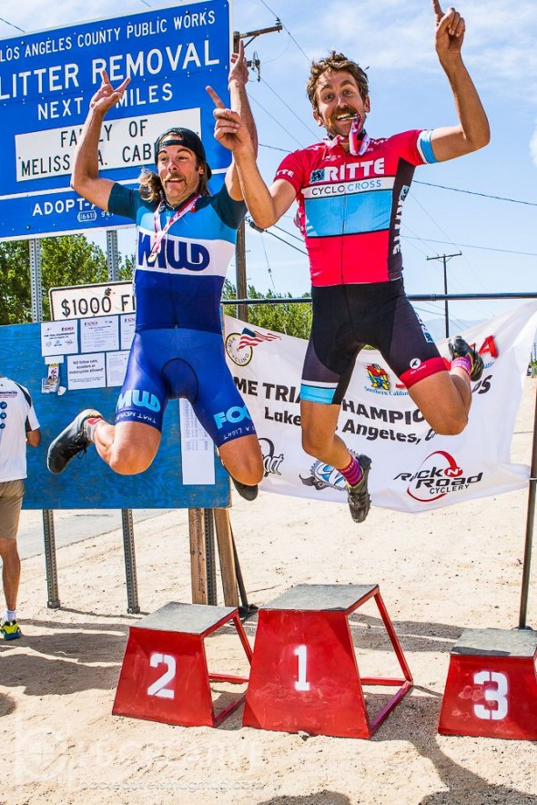 Celebrating the win in true 'cross style. © Phil Beckman / PB Creative