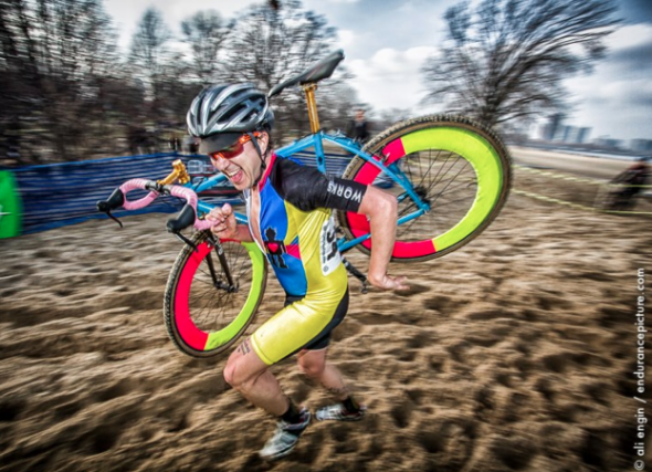 Jensen loves all things cyclocross, and wants your vote for the spot on USA Cycling's committee. © Ali Engin