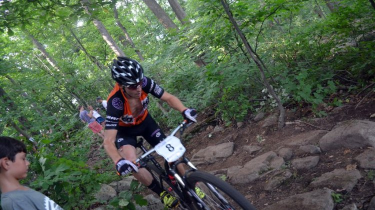Spencer Paxson had his best Nationals ride to date, finishing in fourth. © Cyclocross Magazine