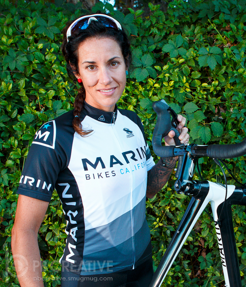 Nicole Duke riding for Marin this season.© Philip Beckman / PB Creative