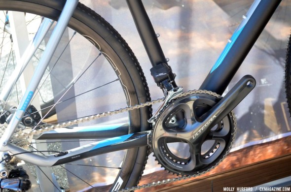 Di2 shifting is the new standard for Shimano-speced high end 'cross bikes. © Cyclocross Magazine