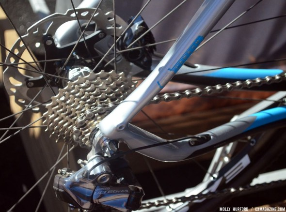 Shimana Ultegra cassette on the newest Marin Cortina model. © Cyclocross Magazine