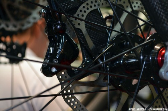 KHS made the switch to disc for this year. © Cyclocross Magazine