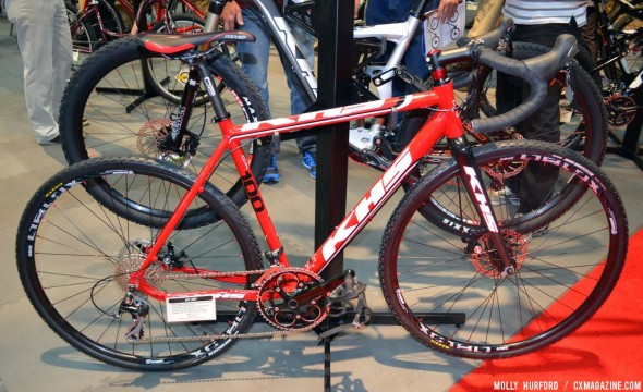 KHS's newest offering: the $1399 disc brake CX-100. © Cyclocross Magazine