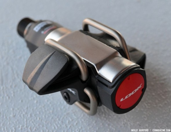A first look at the Look S-Track MTB pedal. © Cyclocross Magazine