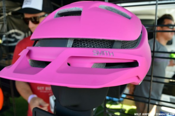 The newest option from Smith: a breathable MTB helmet. © Cyclocross Magazine