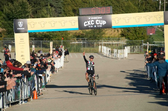 Powers Takes the Solo Win at Trek HQ