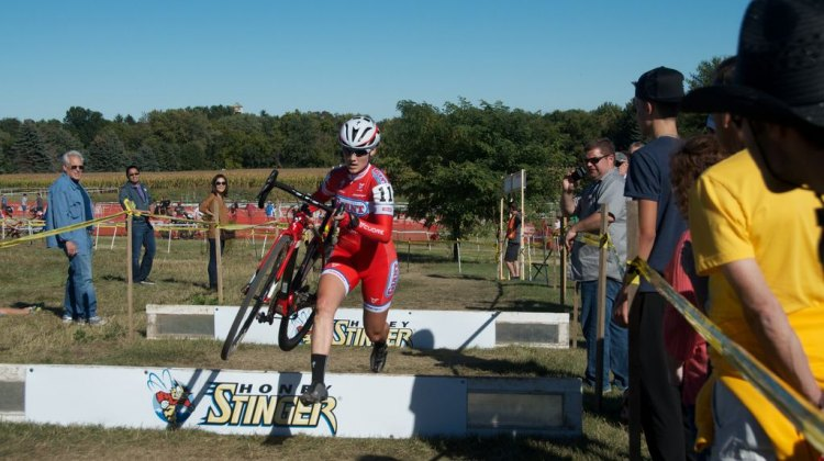 CalGiant's newest rider Elle Anderson doubled up wins this weekend.