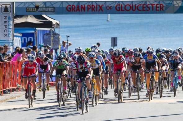 The men's start at Gloucester. © Todd Prekaski